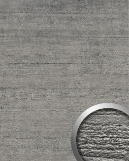 Wandverkleidung Beton Optik WallFace 14803 URBAN Design Platte Wand-paneel Blickfang Dekor selbstklebende Tapete titan grau | 2, 60 qm