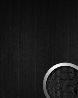 Design Wandpaneel Schlangen Optik WallFace 15033 SNAKE Blickfang Eyecatch Dekor selbstklebende Tapete schwarz | 2, 60 qm