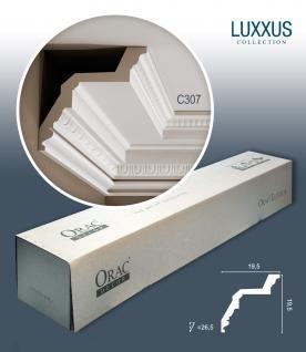 Orac Decor C307 LUXXUS 1 Karton SET 12 Stuckleisten | 24 m