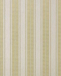 Streifen Tapete EDEM 709-30 Hochwertige Barock Tapete matt-weiß champagner gold platin