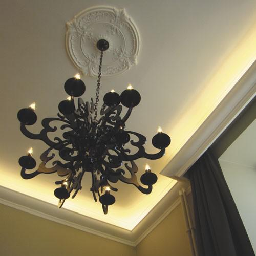 zierrosette stuck orac decor r73 luxxus rosette stuck. Black Bedroom Furniture Sets. Home Design Ideas