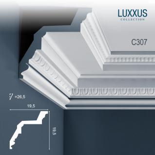 Eckleiste Orac Decor C307 LUXXUS Stuckleiste Zierleiste Decken Wand Stuck Dekor Profil Stuckgesims Dekorleiste | 2 Meter
