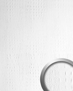 Wandpaneel Luxus 3D Leder WallFace 13407 CROCO Blickfang Dekor Shop Wandverkleidung selbstklebende Tapete weiß | 2, 60 qm