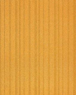 Streifen Tapete EDEM 1015-11 Fashion Designer Uni-Tapete dezente Struktur-Muster hochwaschbare Oberfläche gold-gelb