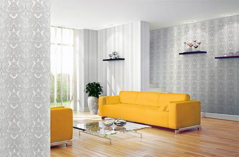 3d xxl barock tapete vliestapete edem 691 93 elegance vintage damask relief tapete creme beige. Black Bedroom Furniture Sets. Home Design Ideas