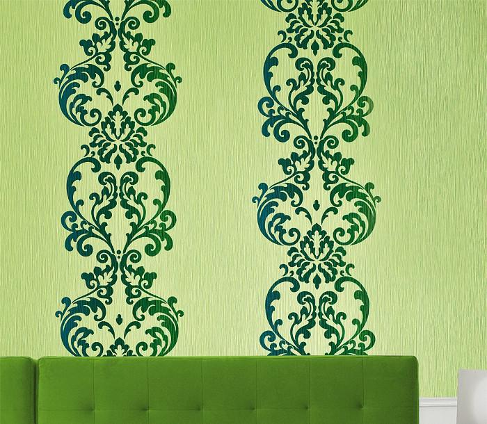 barock tapete edem 178 26 tapete modern art ornamente hell t rkis blau braun perlmutt kaufen. Black Bedroom Furniture Sets. Home Design Ideas
