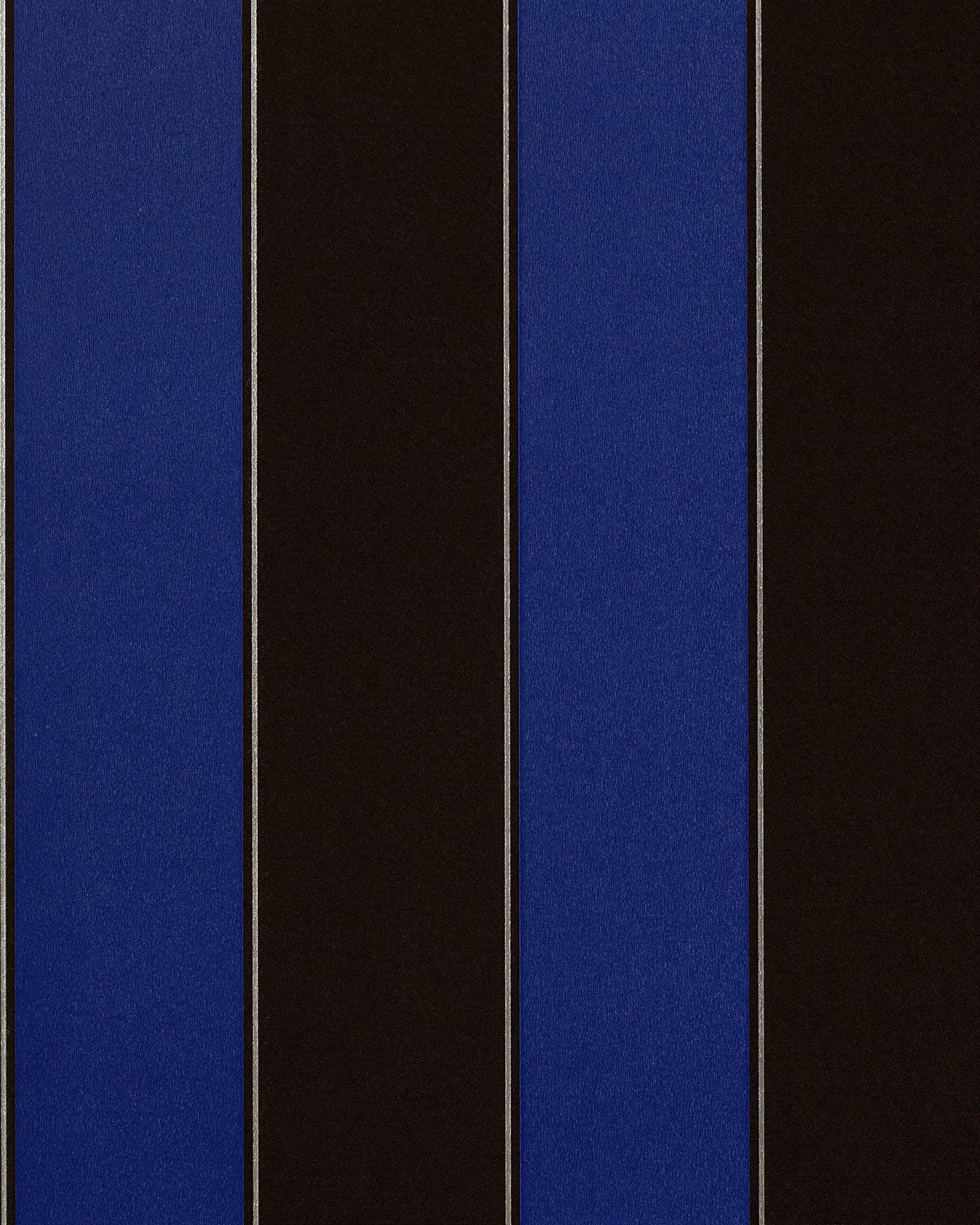 streifen tapete edem 771 37 vinyl tapete luxus hochwertig barock dunkel braun royal blau silber. Black Bedroom Furniture Sets. Home Design Ideas