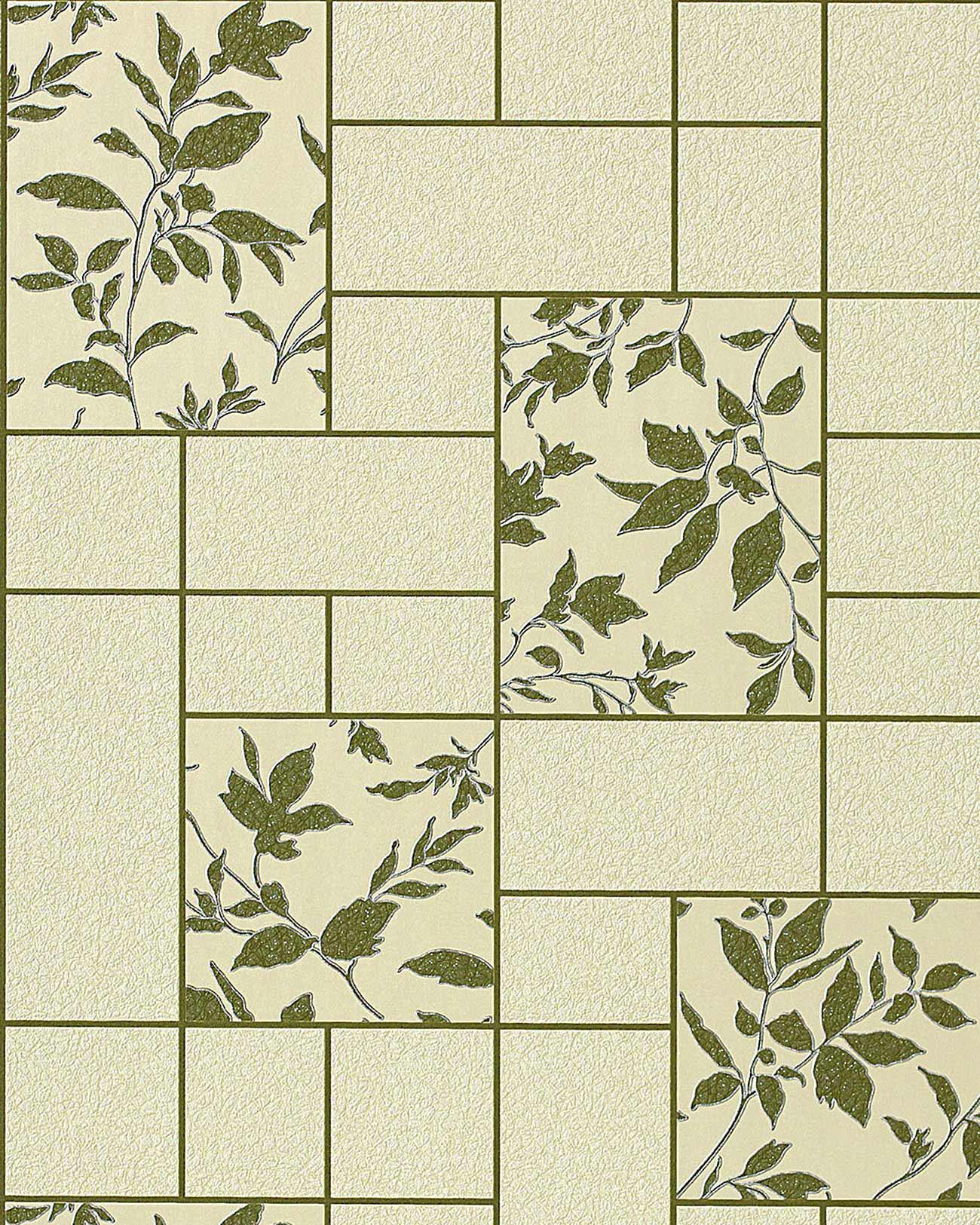 k chen tapete badezimmer tapete edem 146 25 fliesen kacheln optik florales muster beige gr n