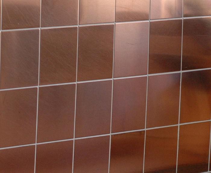 mosaik fliese massiv metall kupfer gewalzt in kupfer 1 6mm stark alloy century cm 0 5 m2. Black Bedroom Furniture Sets. Home Design Ideas