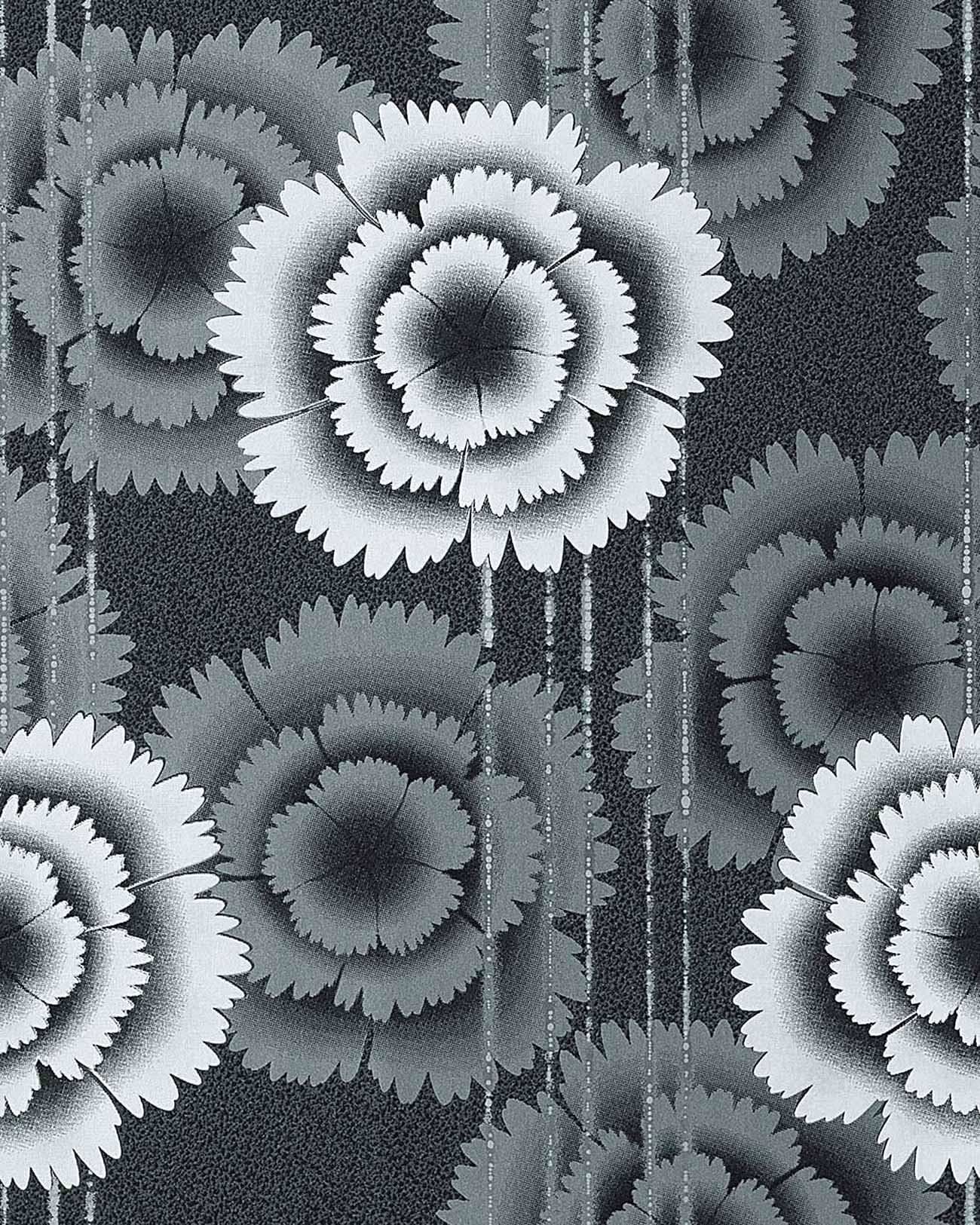 Tapeten Blumen Schwarz online bestellen bei Yatego