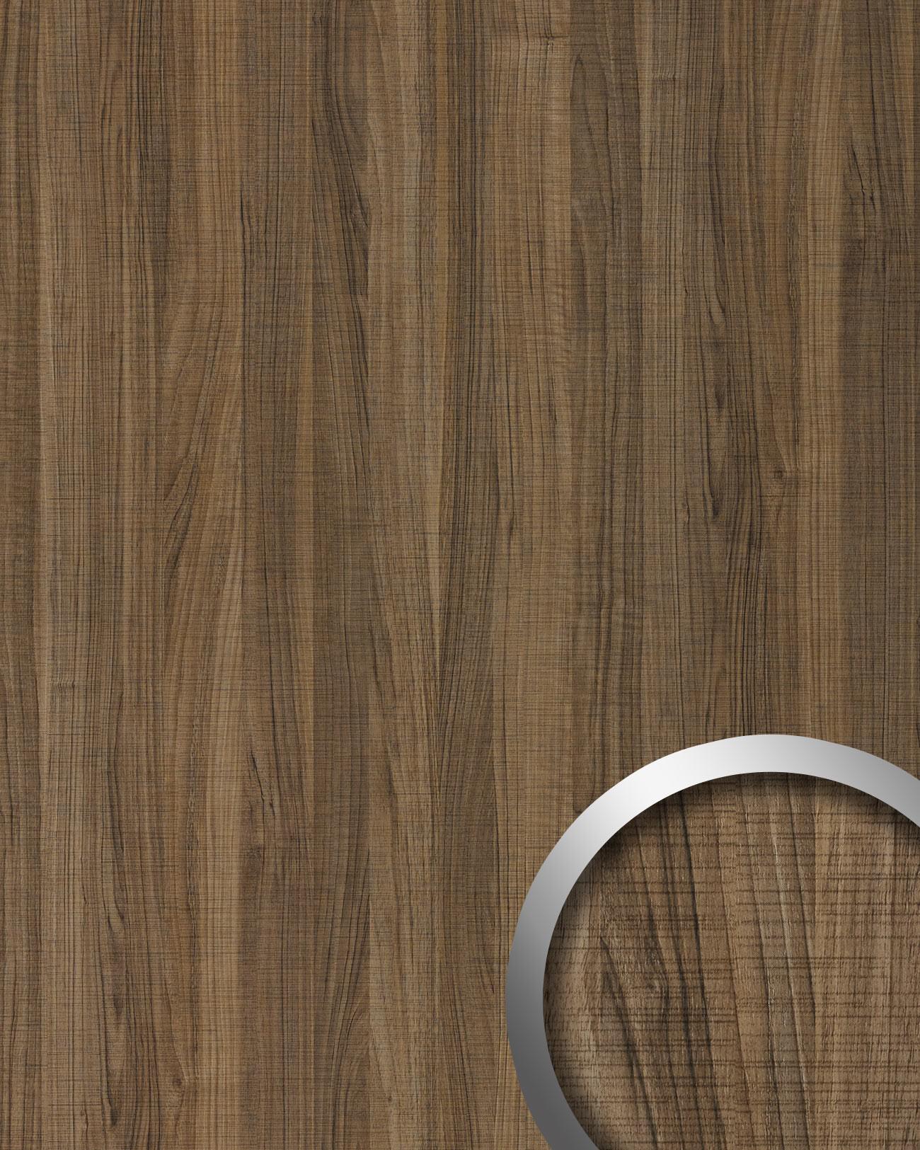 wandpaneel holz optik wallface 19028 nutwood country nussbaum holzdekor naturgetreue haptik. Black Bedroom Furniture Sets. Home Design Ideas