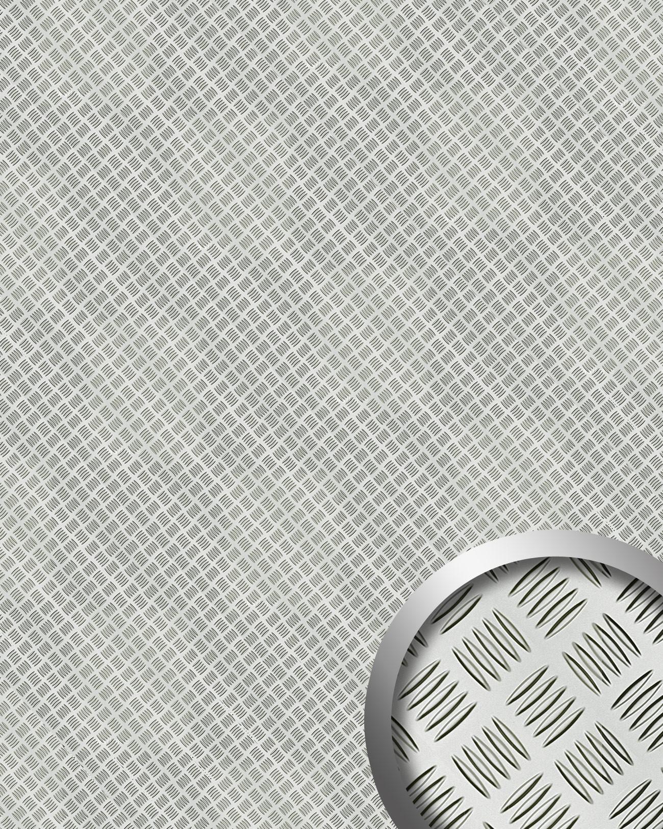 wandpaneel alu step design wallface 11308 platte. Black Bedroom Furniture Sets. Home Design Ideas