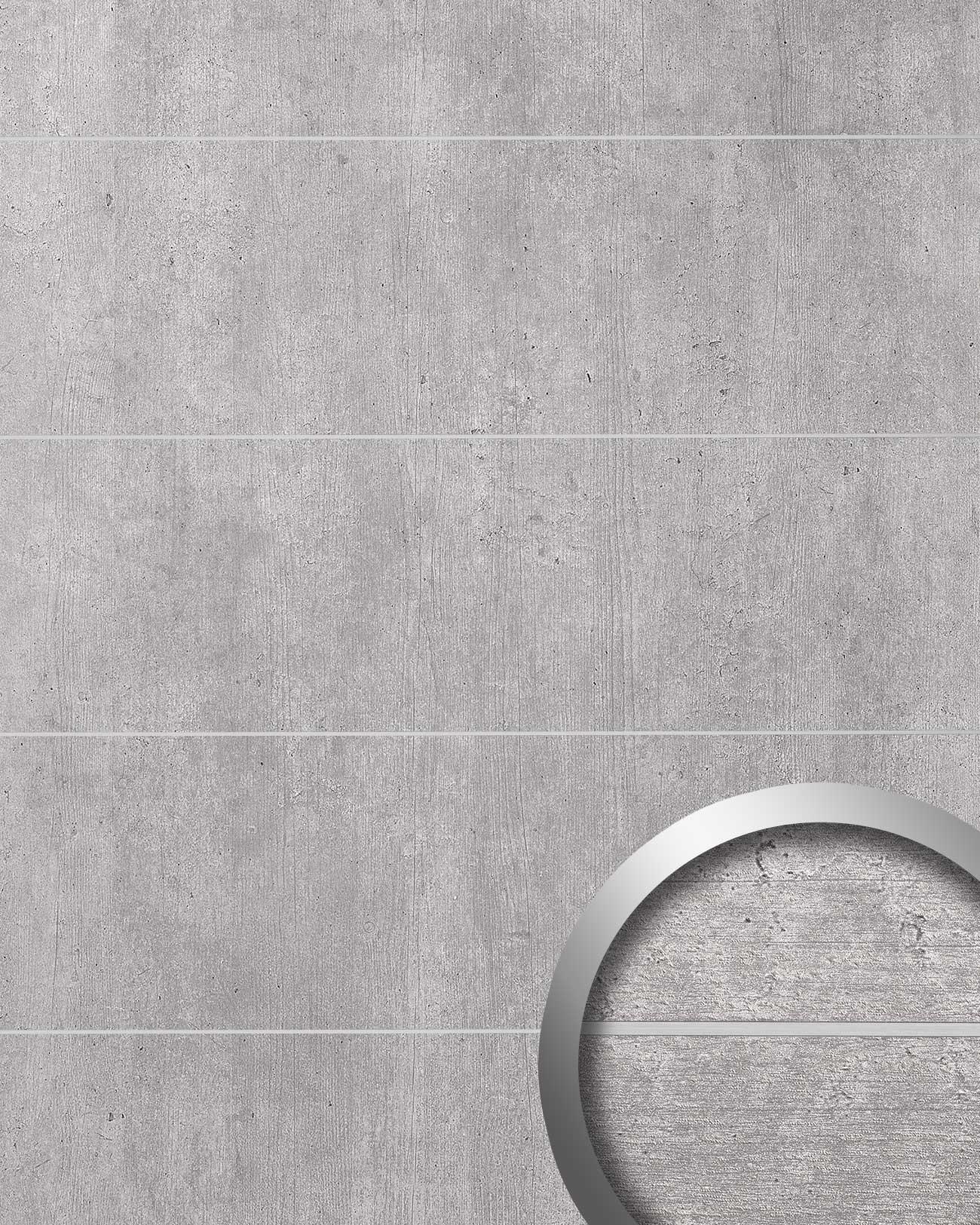wandverkleidung beton optik wallface 19103 cement light 8l. Black Bedroom Furniture Sets. Home Design Ideas
