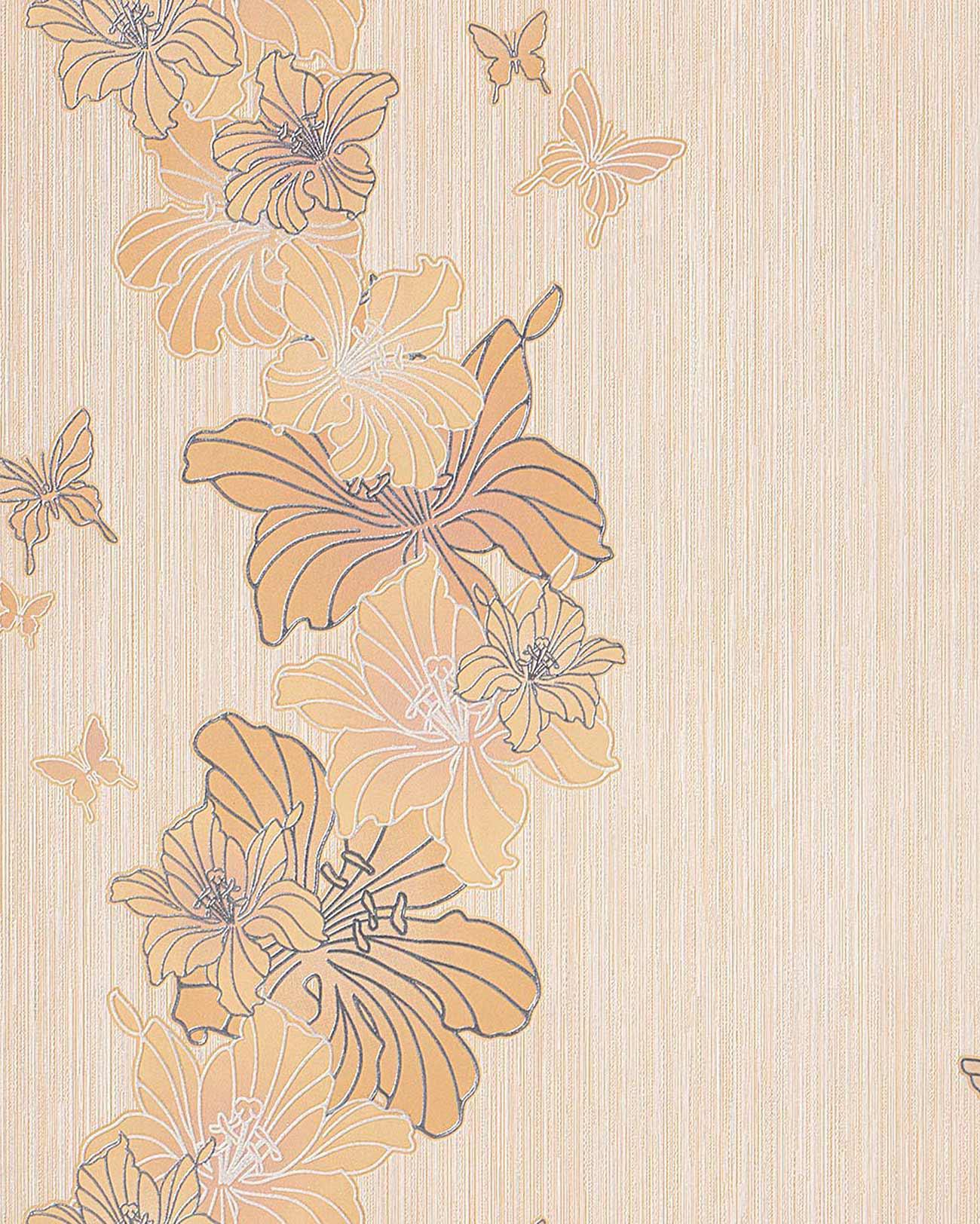 3d tapete blumentapete edem 108 31 floral designer. Black Bedroom Furniture Sets. Home Design Ideas