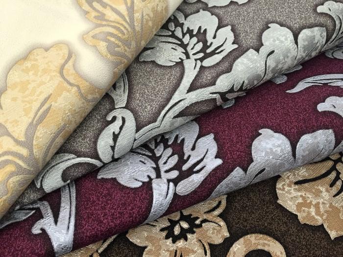 blumen tapete luxus vliestapete xxl edem 995 35 florale barock optik metallic effekt aubergine. Black Bedroom Furniture Sets. Home Design Ideas