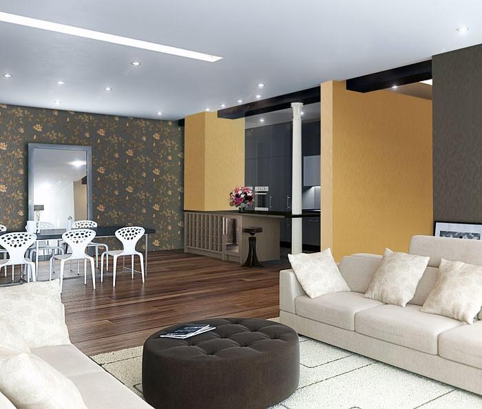 3d blumentapete floral tapete edem 769 37 hochwertige. Black Bedroom Furniture Sets. Home Design Ideas