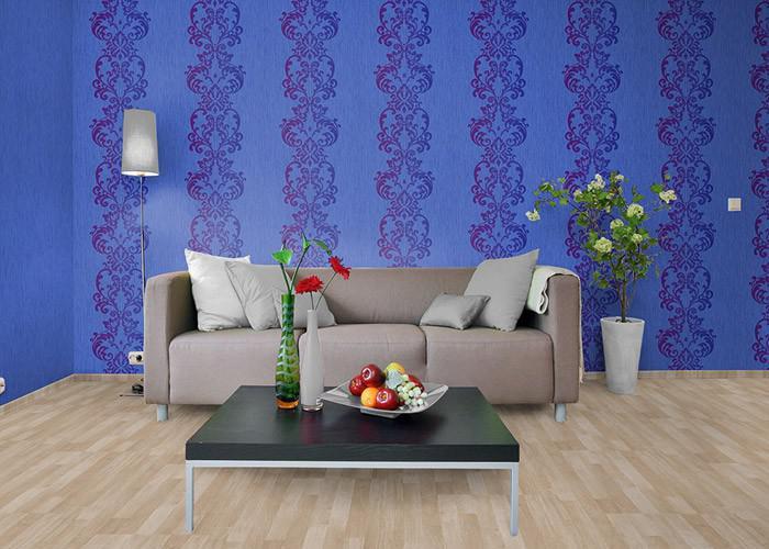 uni tapete edem 118 22 tapete gestreift vinyltapete gute. Black Bedroom Furniture Sets. Home Design Ideas