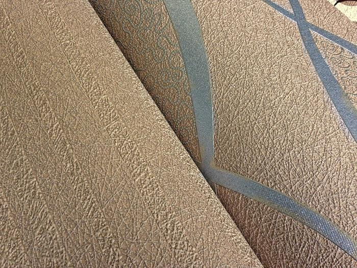 Retro tapete edem 1018 13 retrotapete geschwungene for Tapete beige braun