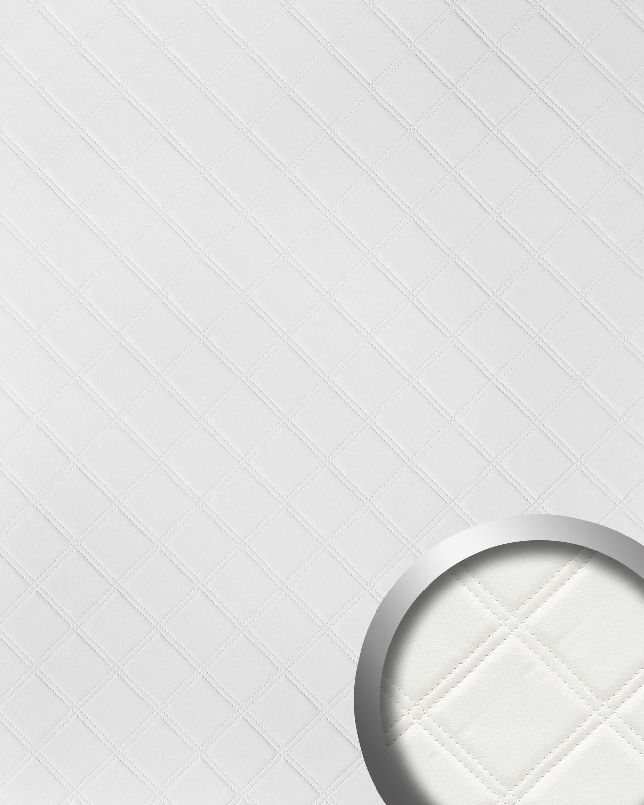 wandpaneel karo leder 3d luxus wallface 15042 rombo blickfang dekor selbstklebende tapete. Black Bedroom Furniture Sets. Home Design Ideas