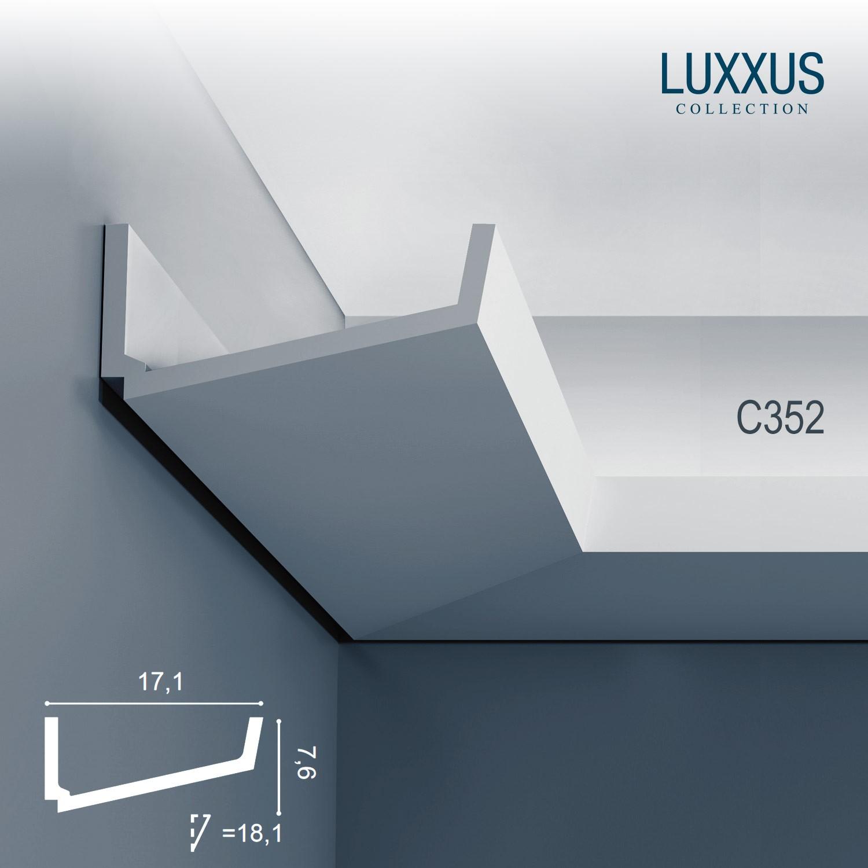 dekor profil orac decor c352 luxxus eckleiste zierleiste. Black Bedroom Furniture Sets. Home Design Ideas