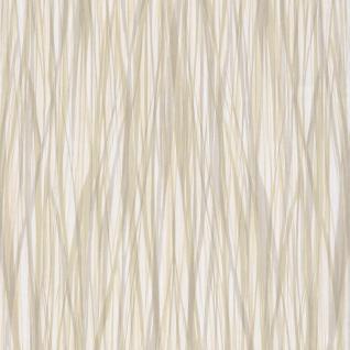 Natur Vliestapete FERUS 205-405 WILD Schilf Ton-in-Ton grau grün creme-weiß 5, 33 qm