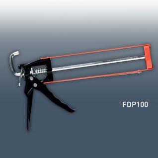 Kartuschenpistole Silikonpresse Orac Decor FDP100 Kartuschenpresse Acryl Silikon Kleber Pistole