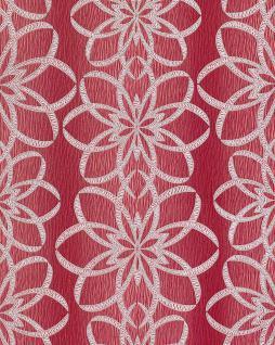 Blumen tapete rot g nstig online kaufen bei yatego for Tapete rot silber
