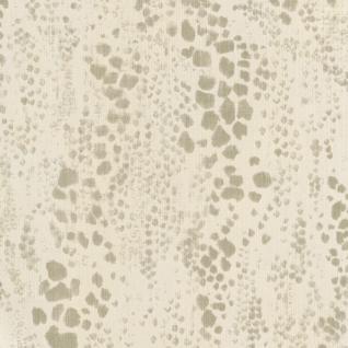 Tiermotiv Vliestapete FERUS 205-704 WILD Leopardenmuster Dschungel creme-weiß silber-grau 5, 33 qm