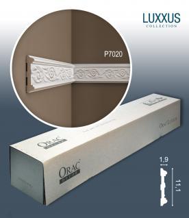 Orac Decor P7020 LUXXUS 1 Karton SET 10 Wandleiste Zierleisten | 20 m