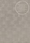 Uni Tapete Atlas COL-994-0 Vliestapete strukturiert mit Struktur schimmernd silber grau 5, 33 m2