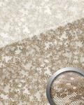 Wandpaneel Glas-Optik Französiche Spitze Muster WallFace 17950 LACE Wandverkleidung selbstklebend weiß braun | 2, 60 qm