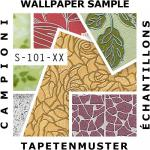 Tapeten MUSTER EDEM 101-Serie | Vinyl Decor Decken Wand-Tapete Paneel Optik