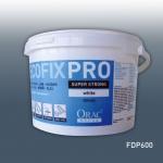 Montagekleber für Zierleistee Leisten und Paneele Orac Decor FDP600 Acryl Kleber DecoFix Pro Eimer 4, 2 l / 6, 4 kg