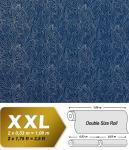 Barock Vliestapete XXL Tapete EDEM 698-92 Imperial Versailles silbernes Paisley Muster tief-blau königsblau 10, 65 qm