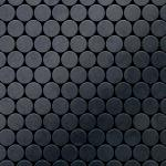 Mosaik Fliese massiv Metall Rohstahl gewalzt in grau 1, 6mm stark ALLOY Dollar-RS 0, 88 m2