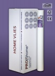 HomeVlies glatte überstreichbare Vliestapete weiß ohne Struktur Glattvlies Renoviervlies Malervlies 120 g | 9 Rol 225 qm