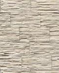 Stein Tapete EDEM 1003-33 Tapete Naturstein Bruch-Stein Mauer Optik geprägte Struktur hochwaschbar hellbeige weiß grau