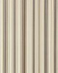 Streifen Tapete EDEM 097-23 Vinyltapete Designer Tapete prunkvolle modern und edel braun hellbraun beige silber schwarz