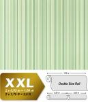 Streifen Tapete Vliestapete EDEM 967-28 XXL Streifen-Muster hochwertige Designer Tapete grün hellgrün dunkelgrün 10, 65 qm
