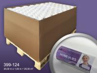 Renoviervlies HomeVlies 120 g glatte überstreichbare Vliestapete Anstrichvlies Malervlies weiß   1 Pal. 2800 qm 112 Rol