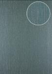 Grafik Tapete Atlas 24C-7505-3 Vliestapete strukturiert mit abstraktem Muster und Metallic Effekt grau grün-grau silber 7, 035 m2