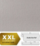 Geprägte Tapete Vliestapete EDEM 940-34 XXL Perlmuttglanz hochwertige 3D geprägte Struktur Grau-beige stahlgrau 10, 65 qm