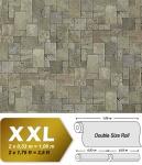 3D Stein Vliestapete EDEM 957-27 XXL stone cubes geprägte Mosaik-Stein Naturstein Optik grau steingrau 10, 65 qm