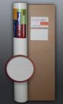 EDEM 330-60 1 Kart 4 Rollen Vlies-Tapete geometrische netz-struktur überstreichbar weiß | 106 qm