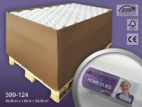 Renoviervlies HomeVlies 120 g glatte überstreichbare Vliestapete Anstrichvlies Malervlies weiß | 1 Pal. 2800 qm 112 Rol