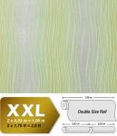 Streifen Vliestapete EDEM 695-95 Design Tapete geschwungene Linien Glitzereffekt hellgrün silber-grau oliv 10, 65 qm