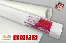 Renoviervlies Glattvlies Profhome Malervlies überstreichbar für Wände und Decken 130 g 18, 75 m2