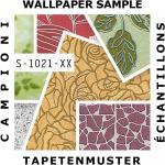 Tapeten MUSTER EDEM 1021-Serie | Designer Tapete Risse Struktur Glanzeffekte