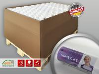 Renoviervlies Makulatur Tapete 120 g glatt Profhome HomeVlies Malervlies weiß 1 Palette 2800 m2 112 Rollen