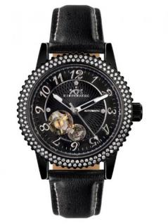 Hindenberg 250-H Air Professional Lady PVD Black Leder